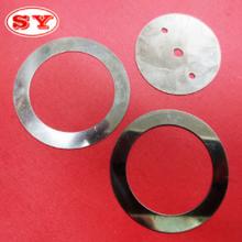 可加工不锈钢电器垫片 机械波浪垫片 电子五金材料平垫片厂家