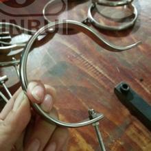 各种规格不锈钢扁铁钩鸟笼钩子倒钩提把手配件冲压件五金件
