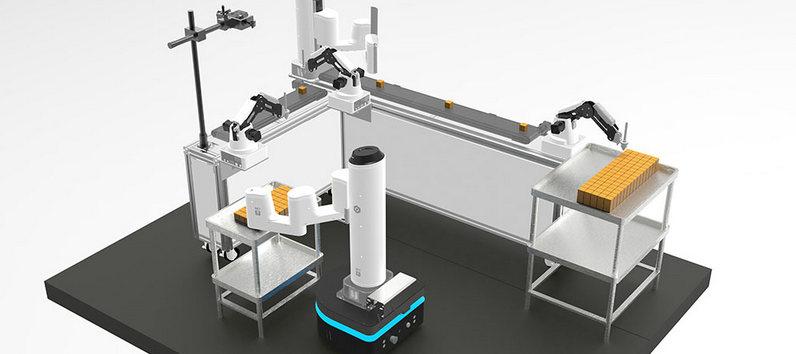 越疆科技在德国汉诺威发布新品协作六轴机械臂