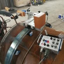 跃鸿博 KA-H10柔性轨道管道焊接小车,管道环缝焊接小车